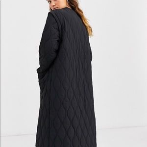 ASOS quilted coat